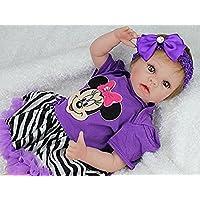 ベビー人形22インチシリコンVinyl Collectible Baby Dolls