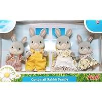 シルバニアファミリー 人形 ラビット ウサギ ファミリー 4030