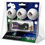 イーストパック East Carolina Piratesゴルフボールギフトパックwith Spring Action Divot Tool