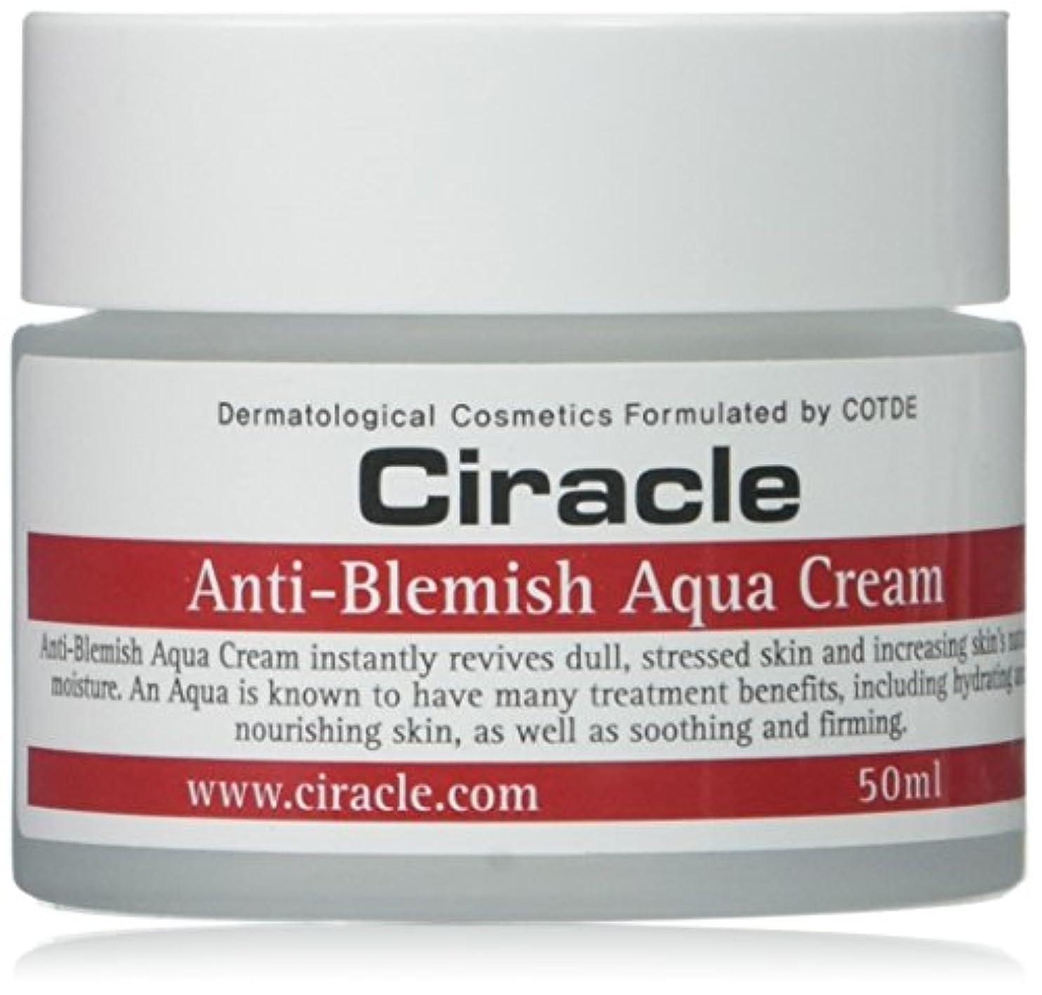 Ciracle シラクル アンチ ブレミッシュ アクア クリーム オイリー肌 ニキビ肌 水分クリーム ?バランス 天然アロエ