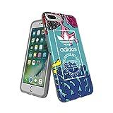 adidas 【アディダス公式ライセンスショップ】アディダスオリジナルス iPhone7 Plusケース TPU グラフィックプリント コーラル [adidas Originals iPhone 7 Plus Coral graphic]
