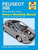 Peugeot 308 Service and Repair Manual: 07-12 (Haynes Service and Repair Manuals)
