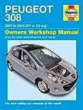 Peugeot 308 Service and Repair Manual: 07-12 (Haynes Service and Repair Manuals)