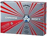 Callaway(キャロウェイ) クロムソフト X トゥルービス CHROME SOFT X ゴルフボール ホワイト×ブルー 1ダース(12球入り) 日本仕様