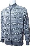 Founders Club(ファウンダース) メンズ フルZIP防風セーター  FC0189W グレー Lサイズ