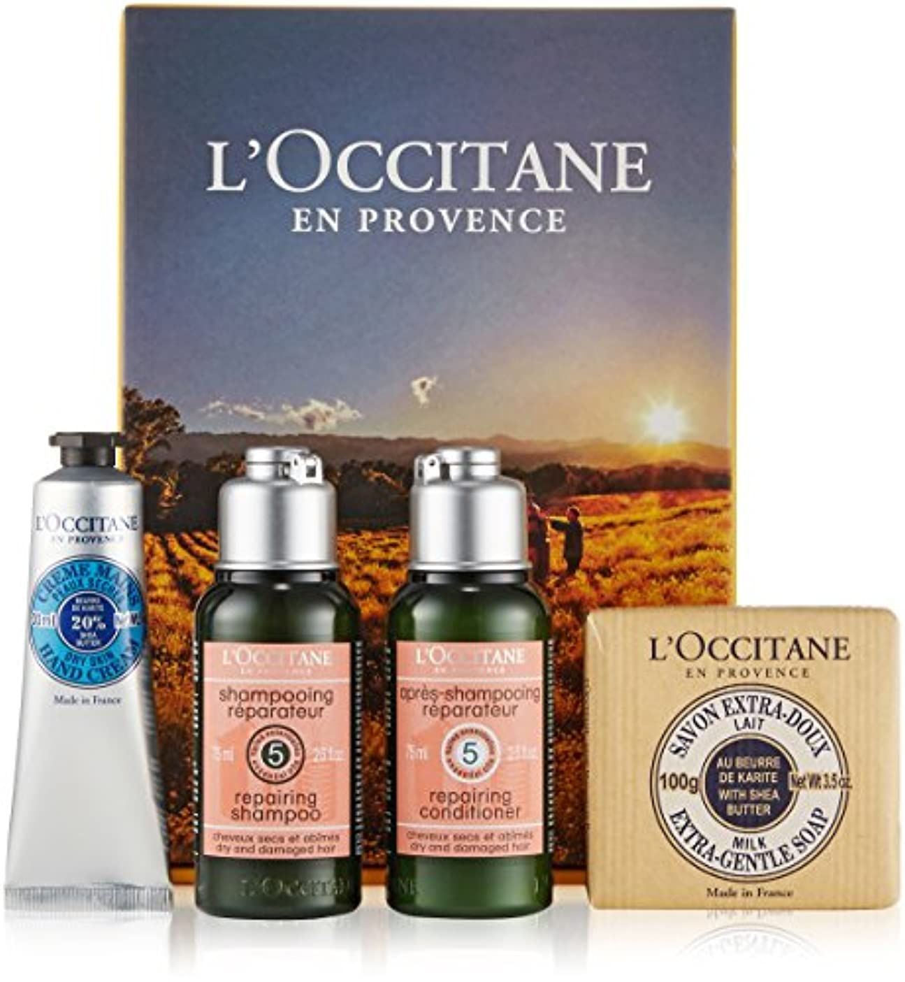 以下溶ける商品ロクシタン(L'OCCITANE)  ベストセラーセット