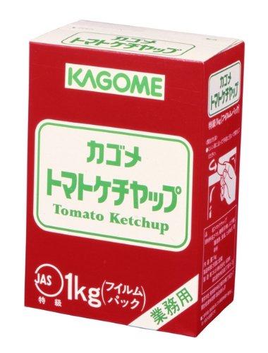 カゴメ トマトケチャップ特級フィルム 1kg×10個
