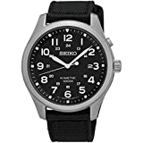 セイコー SEIKO キネティック クオーツ メンズ 腕時計 SKA727P1 ブラック [並行輸入品]