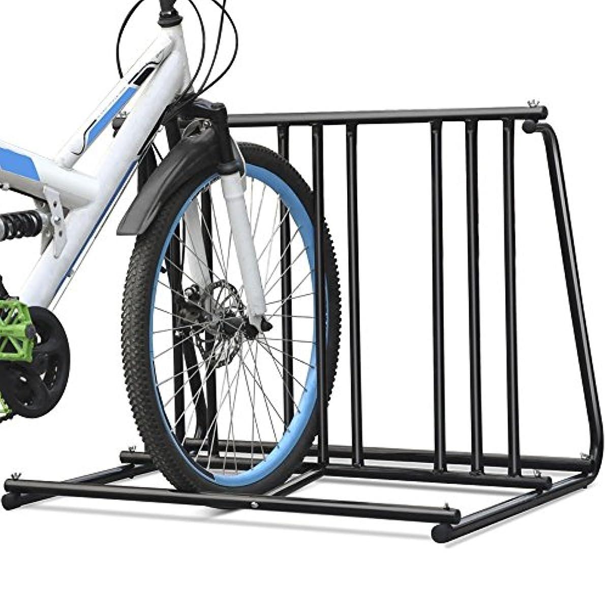 等価初心者コミットHd Steel 1-6 Bikes Floor Mount Bicycle Park Storage Parking Rack Stand 2 3 4 5 by Brand New
