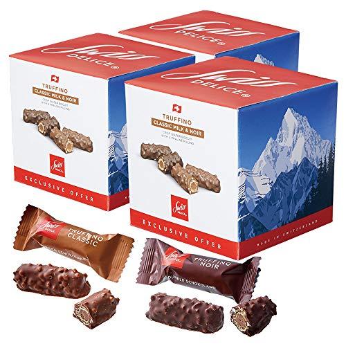 スイスお土産 スイスデリス チョコビスケット 3箱セット