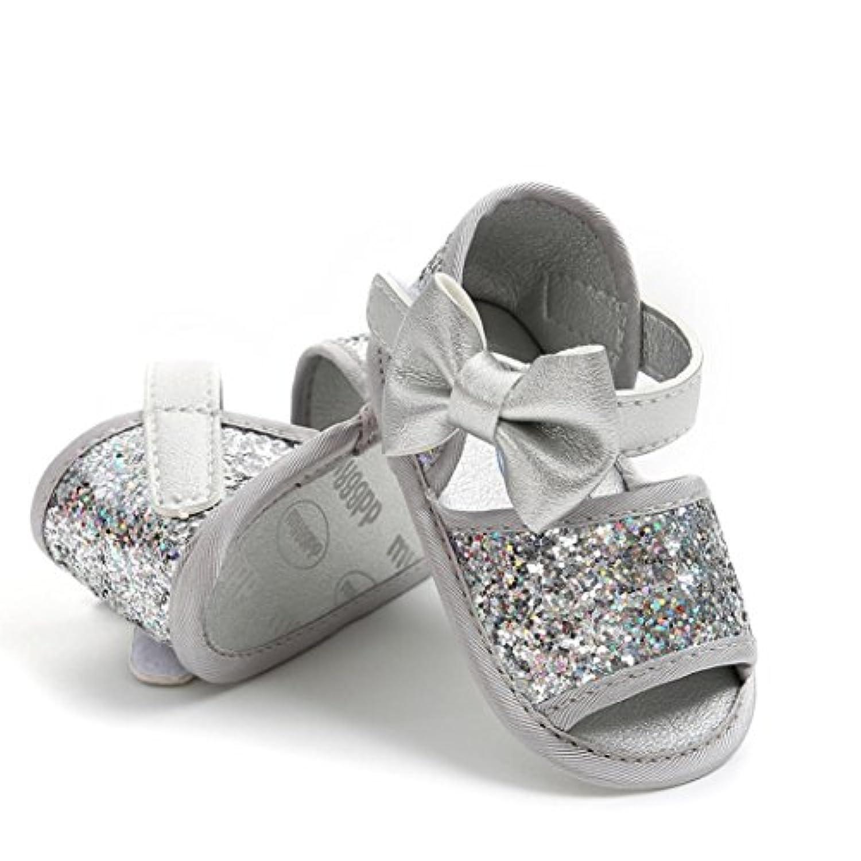Kukiwa2点セット 赤ちゃん靴 ベビー幼児靴 蝶結び付き 女の子 ベビーシューズ 柔らかい 室内履き 出かけ