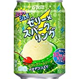 ダイドー ぷるっシュ!! ゼリー×スパークリング メロンクリームソーダ 280g ×24本