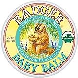 Badger バジャー オーガニックベビークリーム カモミール & カレンドラ 21g【海外直送品】【並行輸入品】
