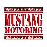 マスタング モータリング ステッカー レッド 赤