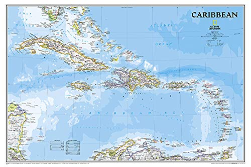Download Caribbean Classic (National Geographic Reference Map) 1597754404