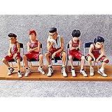 スラムダンクハンドモデル人形ルカワ周辺メープル人形5個セットさくらウッドフラワーカーデコレーション