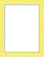 Great Papers! Fresh Slate Damask Letterhead, 20 Count, 8.5x11 (2012137) by Great Papers!