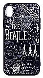 【The Beatles】ザ・ビートルズ「タイトルイラスト ブラック」iPhoneXR シリコン TPUケース [並行輸入品]