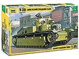 ズベズダ 1/35 ソ連軍 T-28 中戦車 プラモデル ZV3694