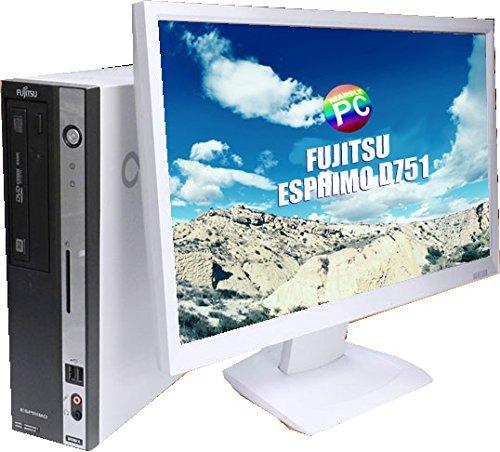 富士通 ESPRIMO D751/D 23インチ液晶モニター付き コアi5搭載 メモリ8GB HDD500GB Windows10