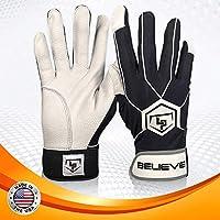 LaportaスポーツBelieve野球ソフトボールバッティング手袋ユースサイズ:S、M、L L