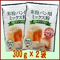 米粉パン用ミックス粉300g 2袋セット/メール便発送