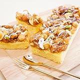 小麦の里 北海道江別 ベイクド・アルル 贅沢ケーキ 3個セット (5種のナッツ贅沢キャラメルケーキ 3個)