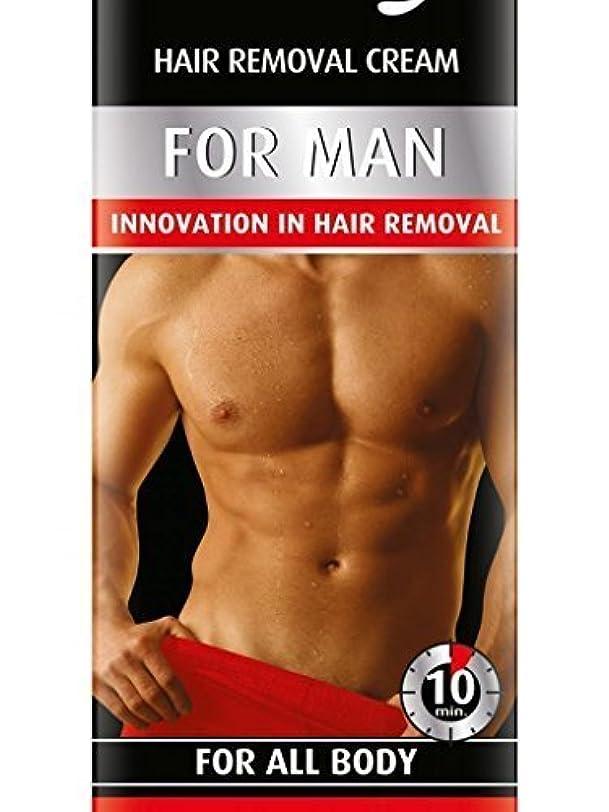 白い潜在的なモーションHair Removal Cream For Men For All Body 100ml by Bielenda [並行輸入品]