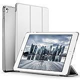 iPad Pro 9.7 ケース クリア ESR iPad Pro 9.7 カバー レザー PU スタンド機能 スリム傷つけ防止 オートスリープ ハード 三つ折タイプ iPad Pro 9.7 インチ スマートカバー (ギャラクシー グレー)