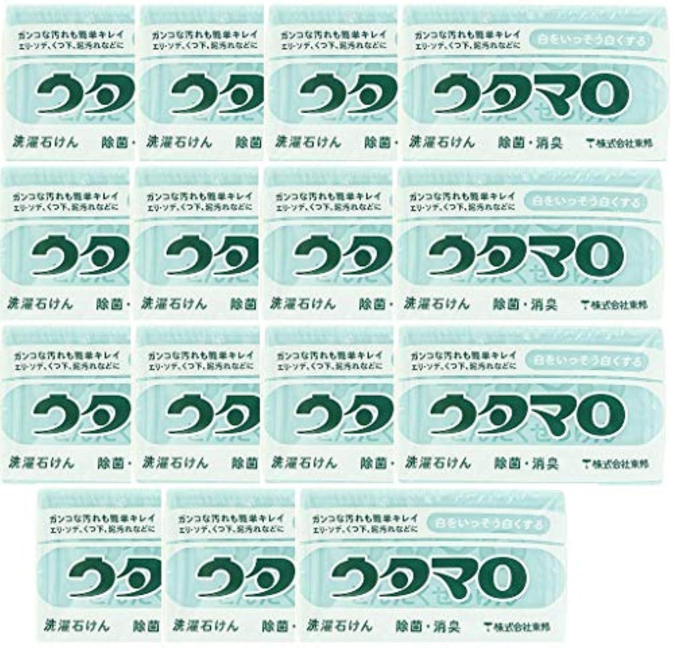 とらえどころのない悪意軽蔑する【まとめ買い】東邦 ウタマロ マホー石鹸×15個