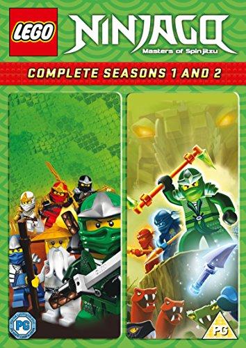 LEGO Ninjago - Masters of Spinjitzu: Complete Seasons 1 and 2 [Region 2]