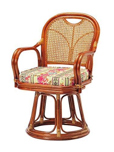 koeki:ラタン回転椅子 ハイタイプ