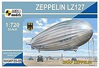 マーク11/ 720ドイツlz127Graf Zeppelinプラスチックmkm72005