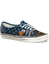 【VANS】AUTHENTIC LITE REISSUE BLUE/PARROTS/CHECK オーセンティック ライト バンズ