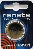 レナータ CR2450N リチウム 3V ボタン電池 2個入 スイス製 - 2PC Renata CR2450N Swiss Made