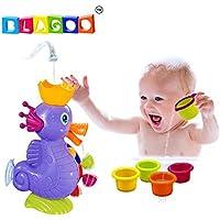 BLAGOO Interactive Running Water Bath Sprinkle Dragon Toy [並行輸入品]