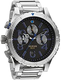 ニクソン NIXON 腕時計 THE 48-20 CHRONO CHRONO MIDNIGHT GT メンズA486-1529