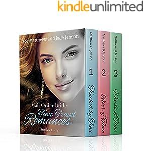 Time Travel/Mail-Order Brides Romance Bundle, Books 1 through 3