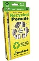 TreeSmartリサイクル新聞Pencils ( 12鉛筆