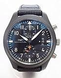 IWC(アイダブリューシー) 腕時計 パイロットウォッチクロノグラフ トップガン IW388001 中古