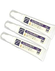 《K?リゾレシチン》アルファ?ベスト?液状タイプ (AZ-ABE) 3本セット 【レシチン サプリメント 大豆レシチン】