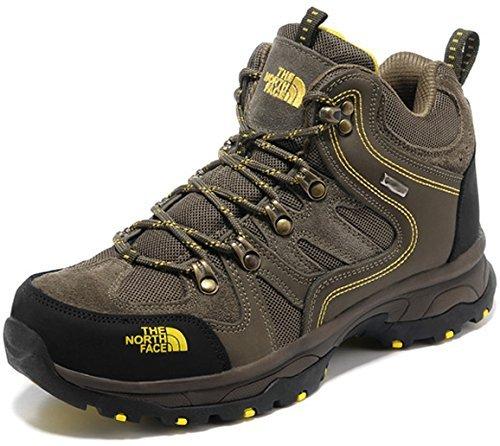 [T H E - N O R T H - F A C E]ザ ノ- ス フェ- ス トレッキングシューズ 登山靴 ハイカット スニーカー (EUR40(25cm), グリーン) [並行輸入品]