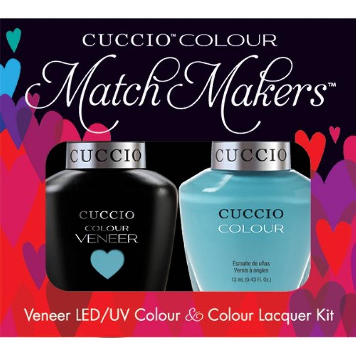 ラグしなやか中断Cuccio MatchMakers Veneer & Lacquer - Make a Wish in Rome - 0.43oz / 13ml Each