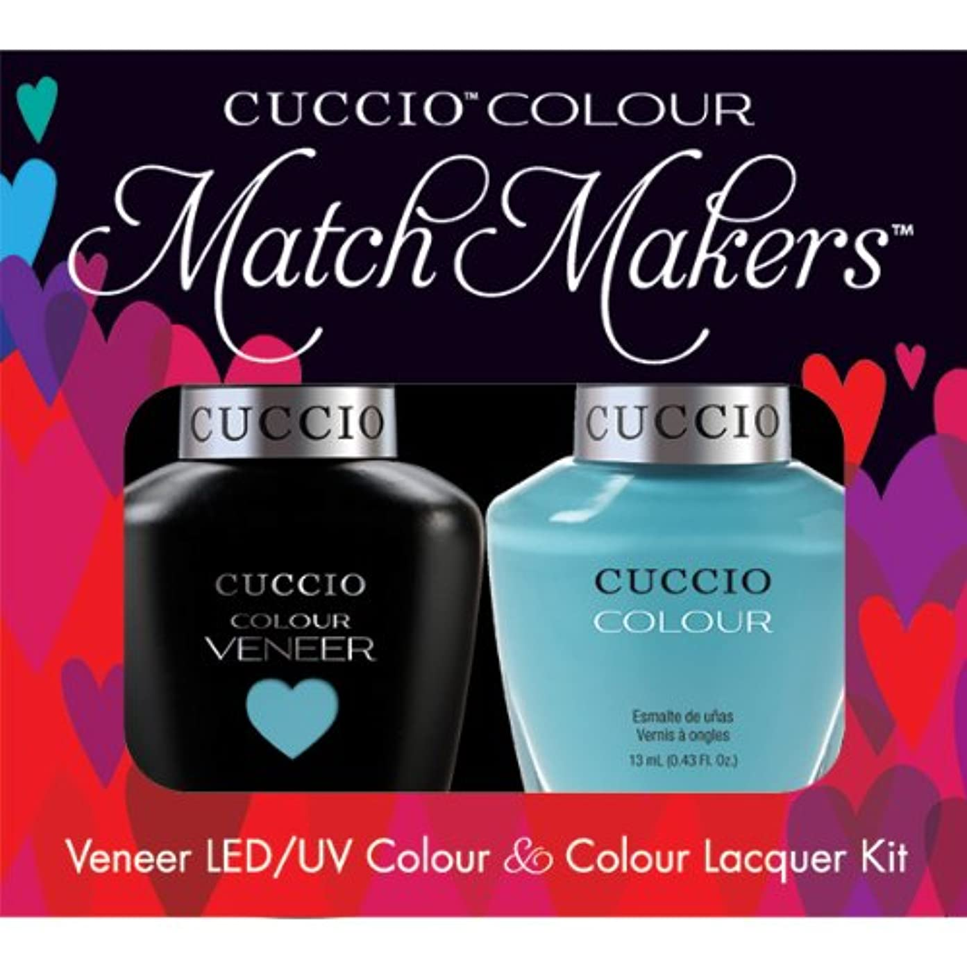樹皮デザイナードキドキCuccio MatchMakers Veneer & Lacquer - Make a Wish in Rome - 0.43oz / 13ml Each