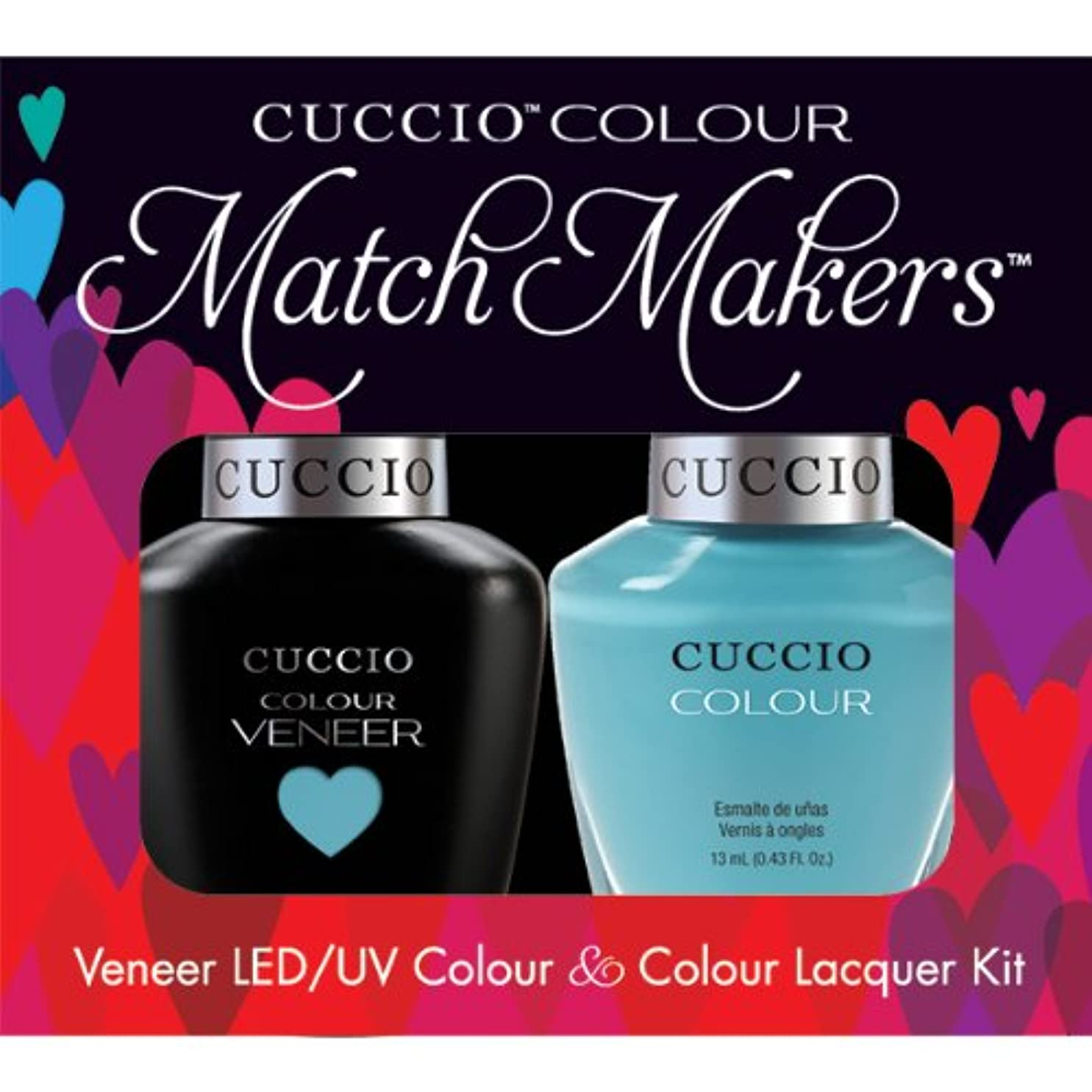 前奏曲アクセスできない大惨事Cuccio MatchMakers Veneer & Lacquer - Make a Wish in Rome - 0.43oz / 13ml Each