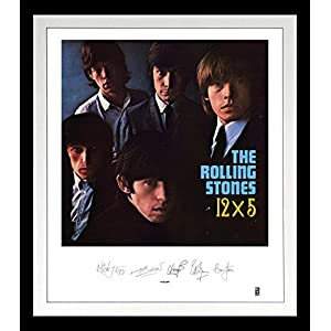 Rolling Stones: 12x5 Lithograph [Analog]