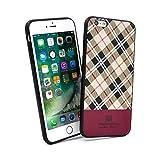 【HANATORA】 iPhone 6s 対応 Tartan タータンチェック ハイブリッドケース(バニラ) H13-6s-Vanilla