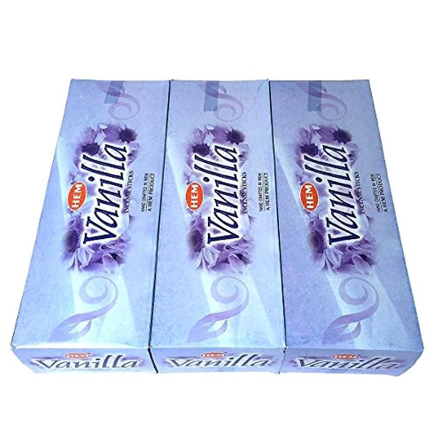 他のバンドで大陸雲バニラ香 スティック 3BOX(18箱)/HEM VANILLA / インド香 お香 [並行輸入品]