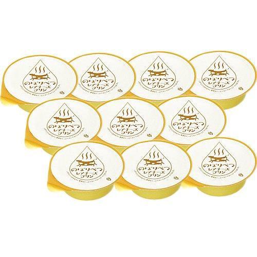 """北海道でもトップレベルの """"のぼりべつ牛乳"""" 使用【のぼりべつレアチーズプリン10個セット】"""