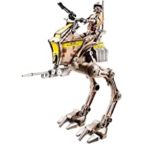 Star Wars Deluxe Figure with Vehicle - Clone Stout with At-Rt by Star Wars